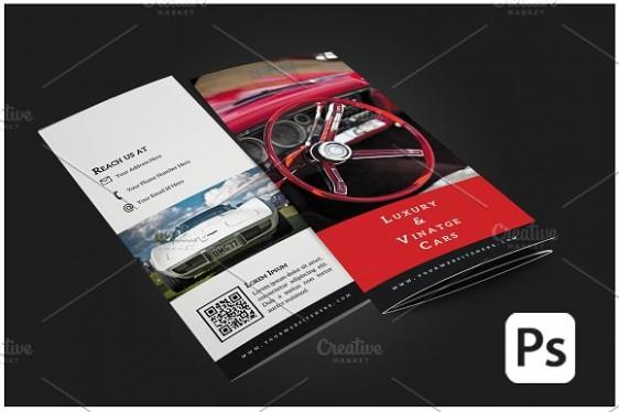 business card template online  10 Best Car Brochure Templates for Online Marketers - business card template online