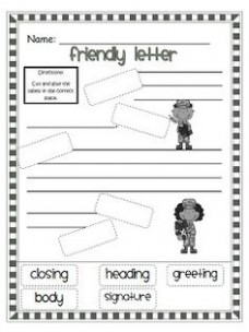 friendly letter template 2nd grade  1000+ images about Second Grade Writing on Pinterest ..