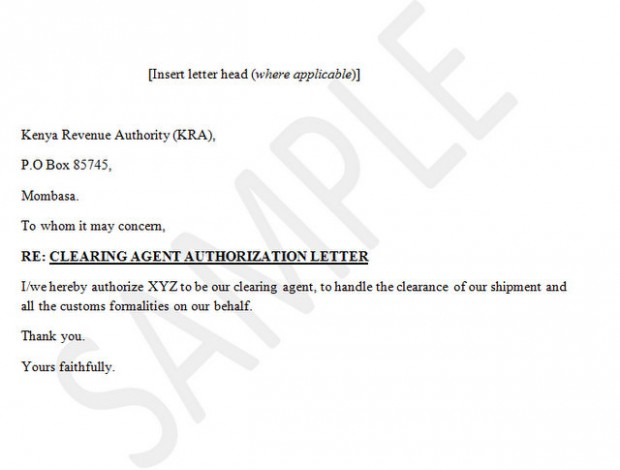 letter template on behalf of  13 - letter template on behalf of