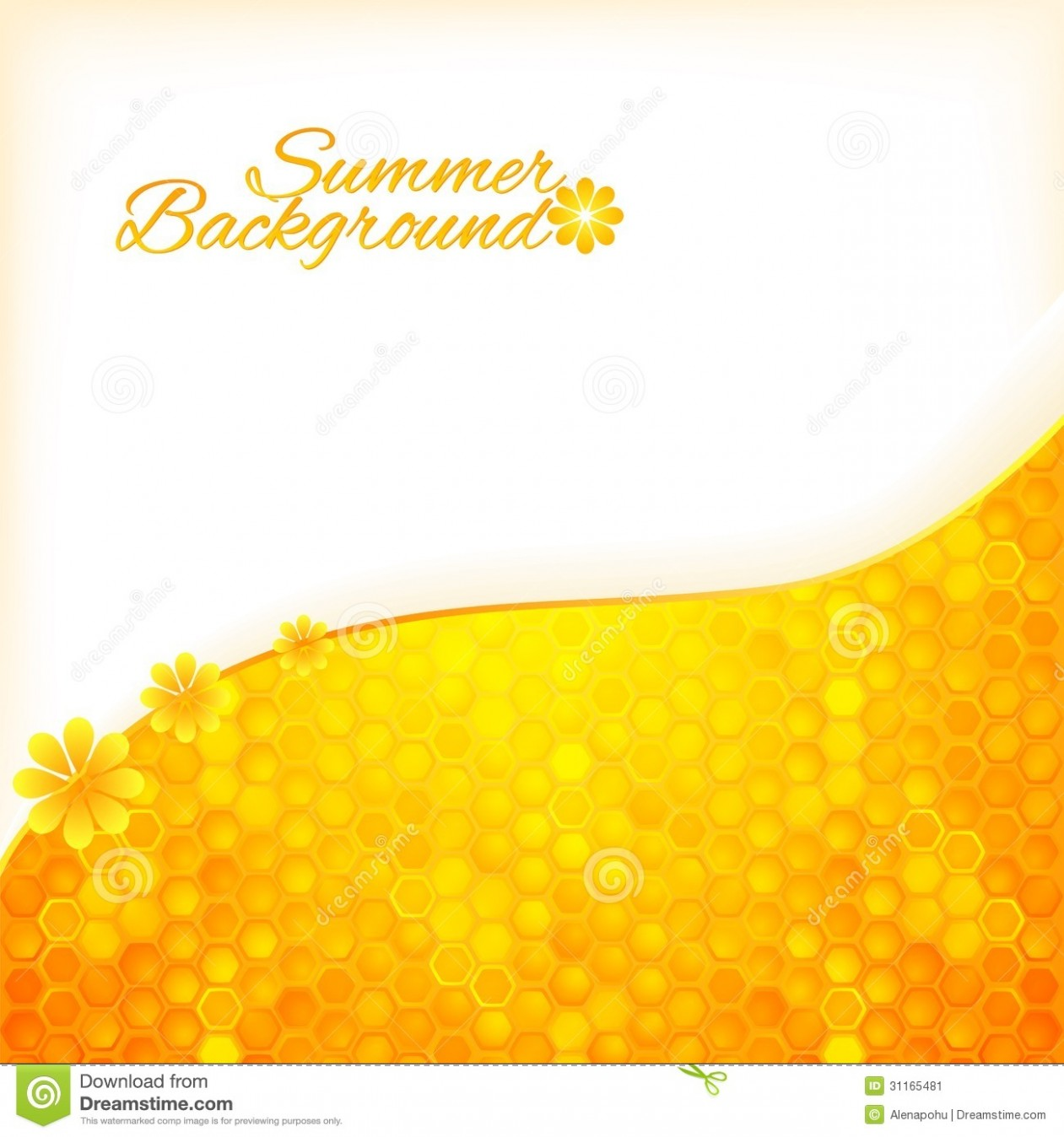 card template vector image id card  Abstract Summer Background With Honey Stock Image - Image ..