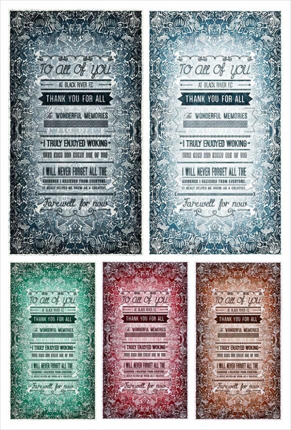 farewell card template microsoft word  FREE 15+ Farewell Card Designs in PSD | AI | MS Word ..