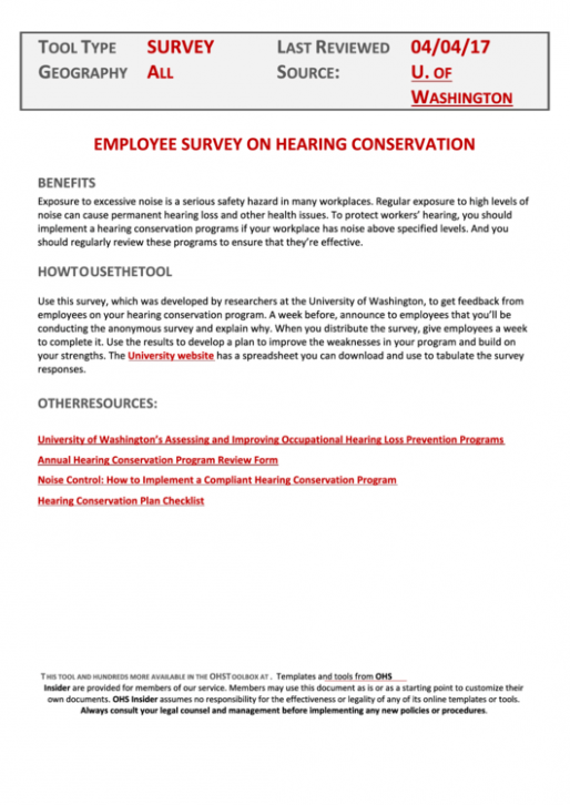 letter f template printable  Hearing Conservation Program Template printable pdf download - letter f template printable