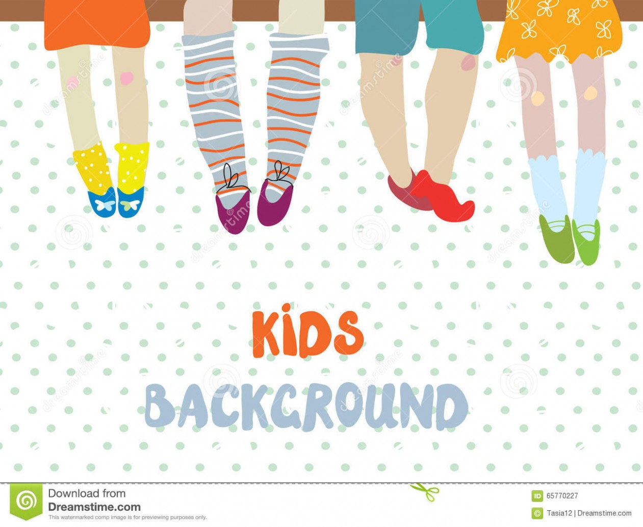 thank you card template kindergarten  Kids Background For Kindergarten Banner Or Card - Funny ..