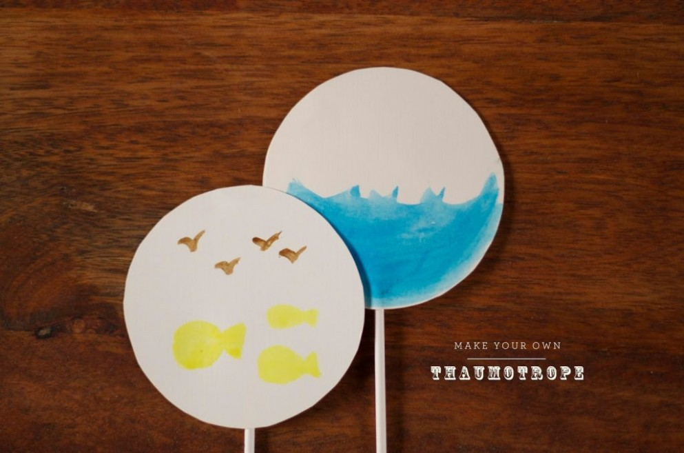 card template for kids  Make your own Thaumatrope - card template for kids