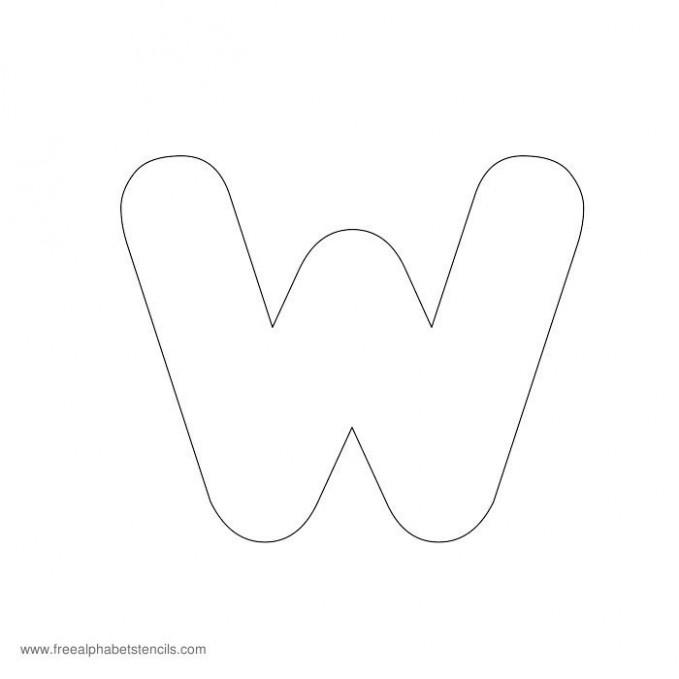 big letter y template  Preschool Alphabet Stencils | FreeAlphabetStencils