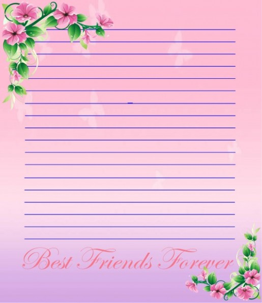 love letter template design  Stationery Paper Collection Free Stock Photo - Public ..