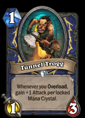card template png  Tunnel Trogg - Hearthstone Wiki - card template png