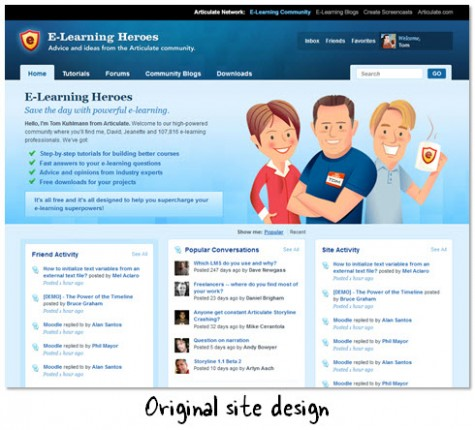 e learning template design  How to Build an E-Learning Template with No Money Down ..
