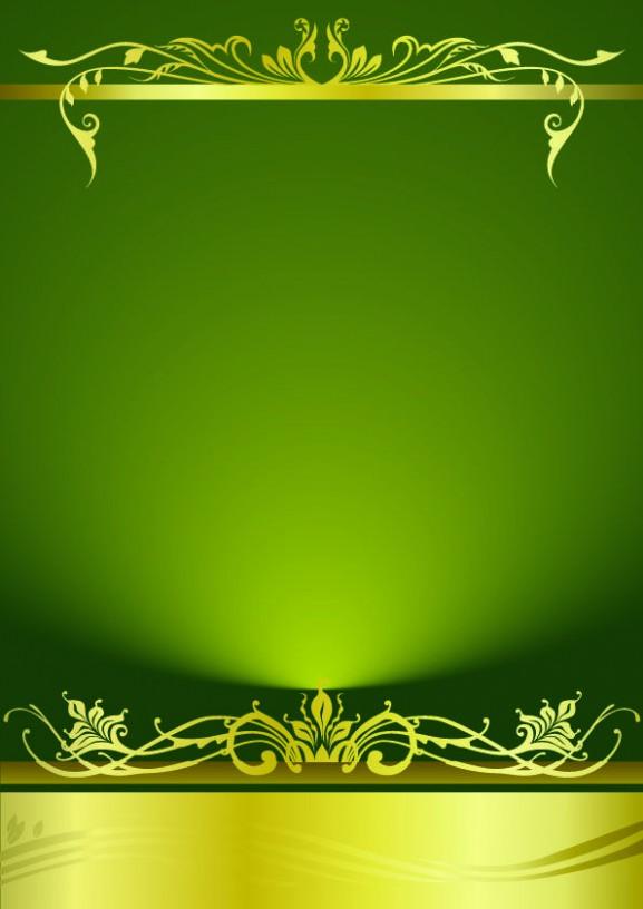 invitation card template hd  Free Background Wedding Invitation Template Green Cool ..