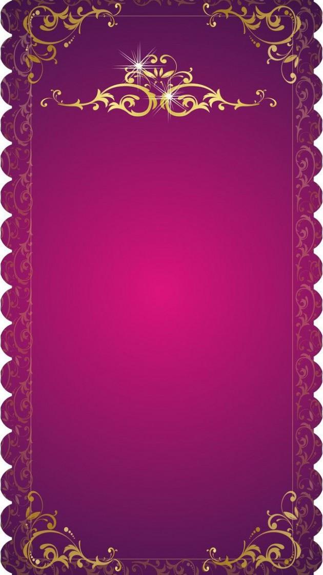 invitation card template hd  H5 Wedding Invitation Vector Background Material   Wedding ..