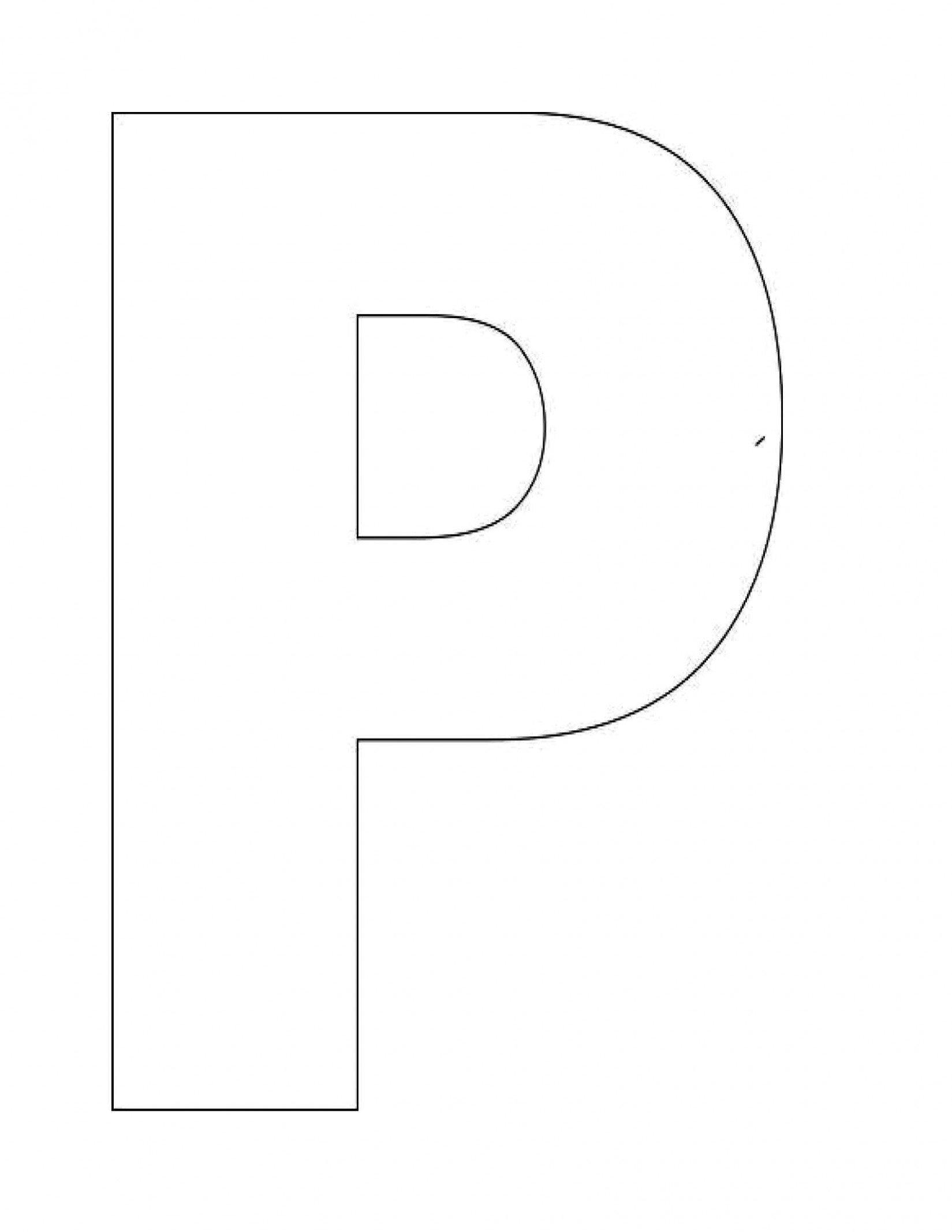letter p template free  Image detail for -Alphabet Letter P Templates are perfect ..