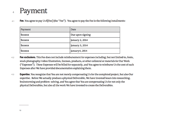 SuperFriendly Service Agreement - contract of agreement template