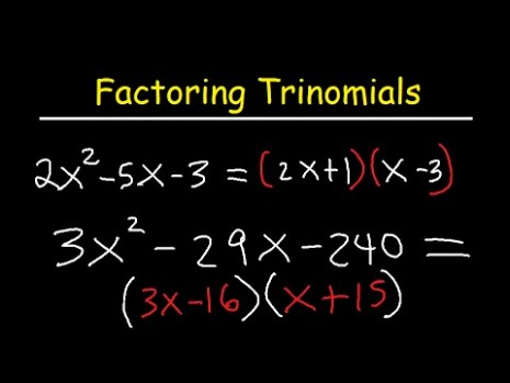 expanded form chemistry  Factoring Trinomials ax2+bx+c By Grouping - YouTube - expanded form chemistry