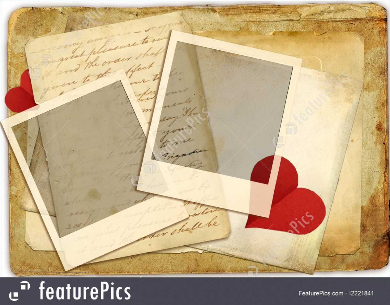 letter templates free  Templates: Romantic Letters - Stock Photo I2221841 at ..